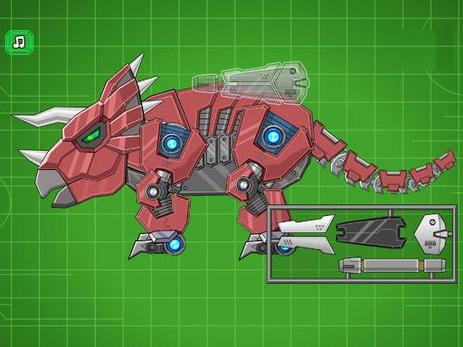 Assemble Robot War Triceratops  screenshots 4