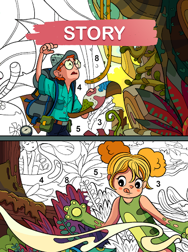 Art Games : Color by number 1.0.0 screenshots 24