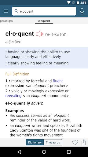 dictionary - m-w premium screenshot 2