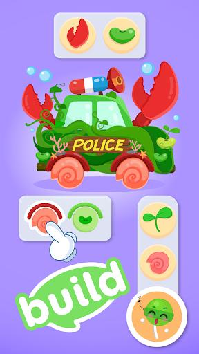CandyBots Cars & Trucksud83dude93Vehicles Kids Puzzle Game  screenshots 3
