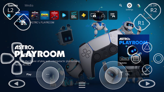 PSPlay: PS Remote Play Unlimited APK For Android 1