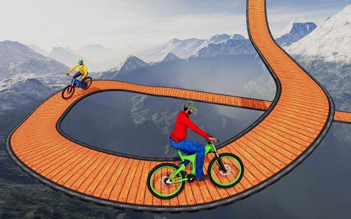 Stunt bike Impossible Tracks 3D: New Bicycle Games 30 screenshots 2