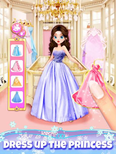 Girl Games: Princess Hair Salon Makeup Dress Up  screenshots 5