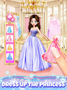 Girl Games: Princess Hair Salon Makeup Dress Up 1.9 Screenshots 5