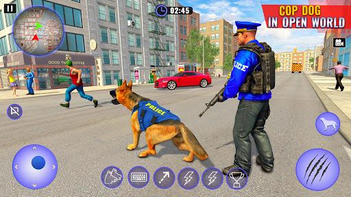 US Police Dog Shopping Mall Crime Chase 2021 Apkfinish screenshots 17