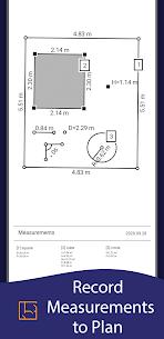 AR Ruler App – Tape Measure & Camera To Plan 3