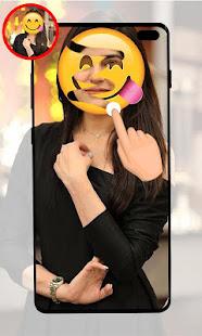 Girls Face Emoji Remover u2013 Face Body scanner Prank 1.3 Screenshots 1