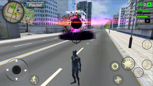 Black Hole Hero : Vice Vegas Rope Mafia android2mod screenshots 4
