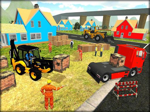 Heavy Excavator Crane Simulator Construction Games apkdebit screenshots 8