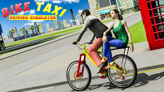 BMX Bicycle Taxi Driving City Passenger Simulator 1.2 Screenshots 2