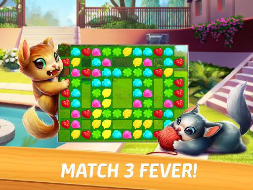 Meow Match: Cats Matching 3 Puzzle & Ball Blast Apkfinish screenshots 14