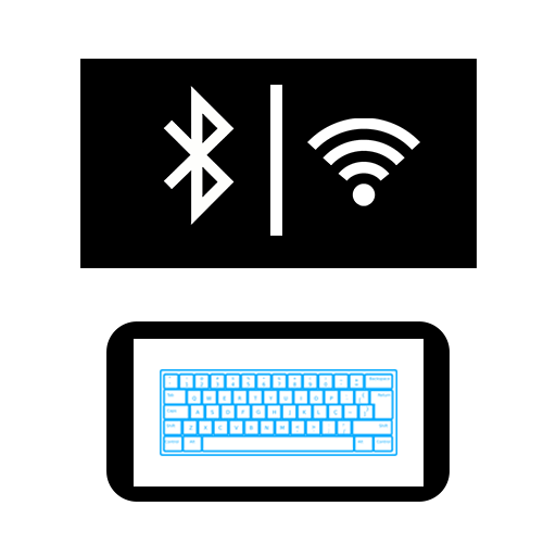 Baixar PC Keyboard WiFi & Bluetooth (+ Mouse | Track pad) para Android