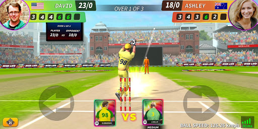 WCB LIVE Cricket Multiplayer: PvP Cricket Clash android2mod screenshots 1