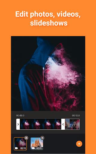 Free Vlog Maker, Music Video Editor - Pelicut  screenshots 1