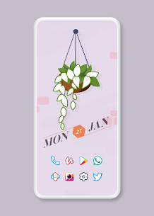 Color Line Icon Pack – color lines on white icons v2.3 [Patched] 4