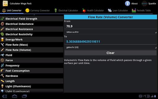 Calculator Mega Pack Tablet For PC Windows (7, 8, 10, 10X) & Mac Computer Image Number- 5