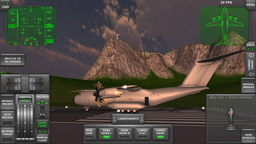 Turboprop Flight Simulator 3D 1.24 screenshots 2
