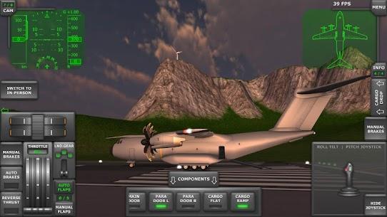 Turboprop Flight Simulator 3D MOD APK 1.26.2 (Unlimited Money) 2