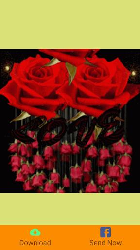 Happy Birthday GIFs & Love Roses Sticker  screenshots 5