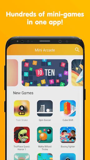 Mini Arcade - Two player games 1.5.2 screenshots 1