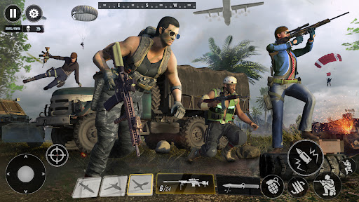 FPS Commando Shooting Games: Critical 3D Gun Games apktram screenshots 24