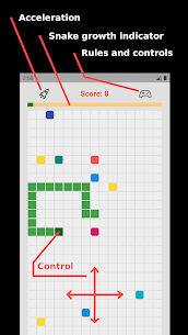 Snake on cells For Android 1
