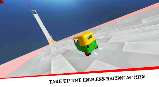 Mega Rikshaw Extreme Impossible Stunts 3D For Android 5