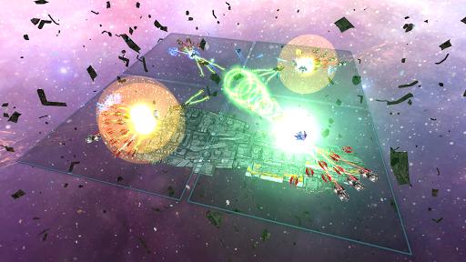 Space Ships WAR: Unique TD Battles apkpoly screenshots 6