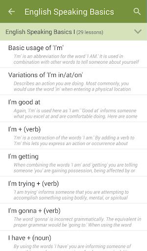 Learn to Speak English 2.4.8 Screenshots 2