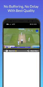 Watch Live Cricket Match MOD APK (All Matches Unlocked) 3