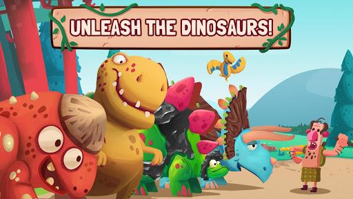 Dino Bash - Dinosaurs v Cavemen Tower Defense Wars 1.3.10 Screenshots 8