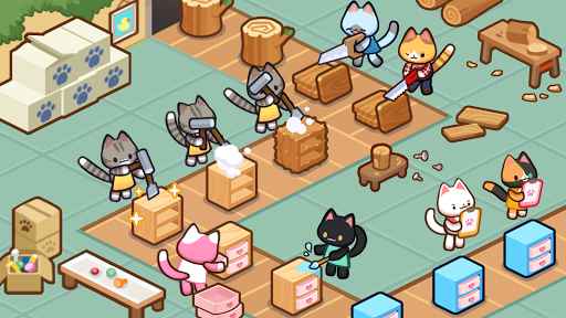Kitty Cat Tycoon : make cat tree screenshots 11