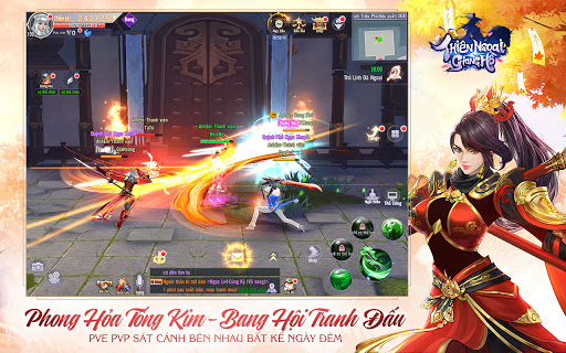 Thiu00ean Ngou1ea1i Giang Hu1ed3 - Thien Ngoai Giang Ho apktram screenshots 10