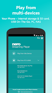 Nero Streaming Player Pro | Connect phone to TV 2.4.10 Apk 2