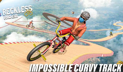 Télécharger Reckless Rider - Jeu gratuit Extreme Stunts Race apk mod screenshots 3