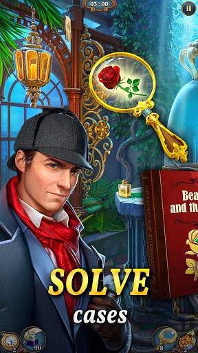 Sherlock:MysteryHiddenObjects& Match-3 Cases  screenshots 1