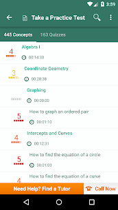 High School Math  Practice Tests and Flashcards Apk 2