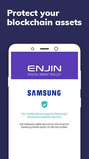 Enjin: Bitcoin, Ethereum, Blockchain Crypto Wallet 1.11.1-r Screenshots 2