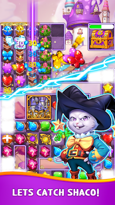Witch & Magic: Match 3 Puzzleのおすすめ画像3