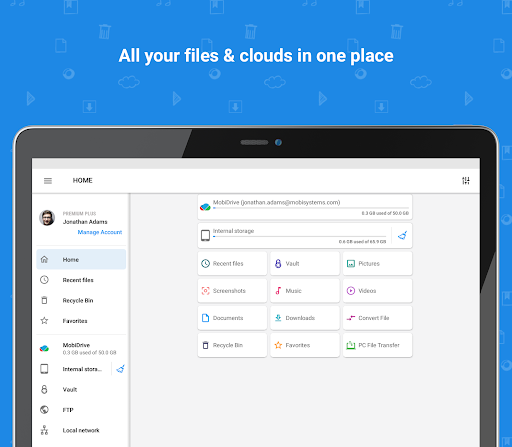 File Commander - File Manager & Free Cloud  Screenshots 9