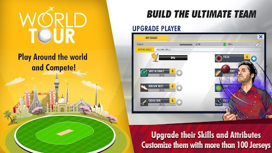 World Cricket Championship 3 – WCC3 (MOD, Unlimited Money) 5