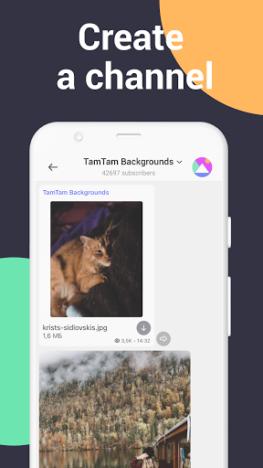 TamTam: Messenger for text chats & Video Calling  Screenshots 4