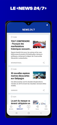 BFMTV - Actualitu00e9s France et monde & alertes info 7.2.0 Screenshots 4