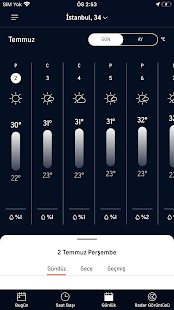 AccuWeather Hava Durumu Screenshot
