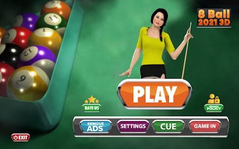 8 Ball Pool 3D Free Game:Billiards Simulator 2021 4