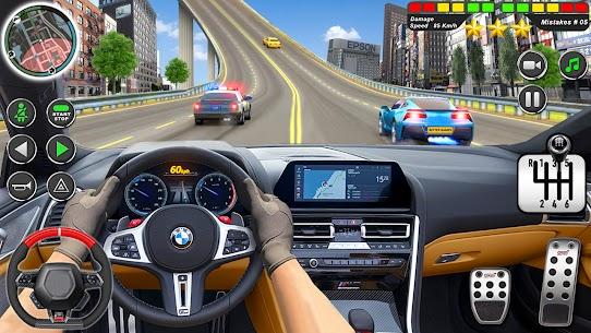 Kent sürme okul simülatör araba otopark Apk İndir 1
