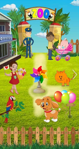 Zoo For Preschool Kids 3-9 - Animals Sounds  Screenshots 1