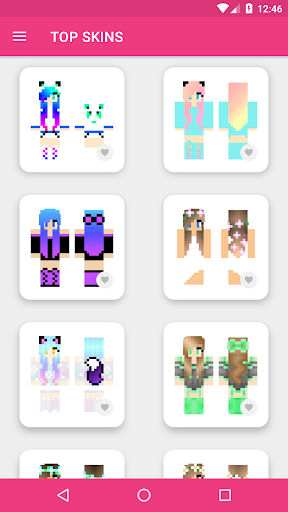 Girls Skins for Minecraft PE 3.4.3 Screenshots 2