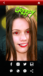 Vampire Yourself Camera Editor Screenshot