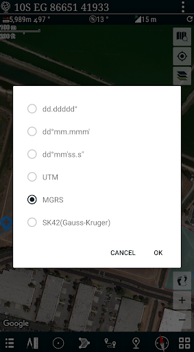 Mgrs & Utm Map apktram screenshots 5